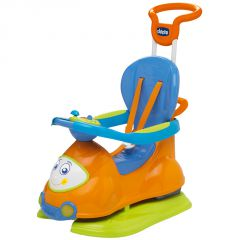Chicco Quattro 4-in-1 Ride on Orange