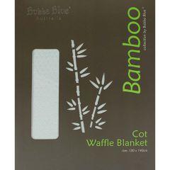 Bubba Blue Cot Waffle Blanket