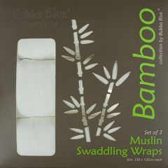 Bubba Blue Bamboo Muslin Wraps
