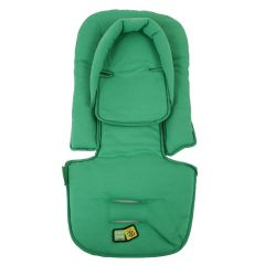 Vee Bee Allsorts Universal Pram Liner with Head Hugger Lime Green