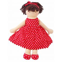 Alimrose Doll Caitlin Red Heart