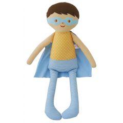 Alimrose Doll Super Hero Blue Yellow