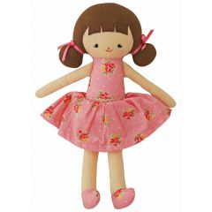 Alimrose Doll Audrey Dusty Rose