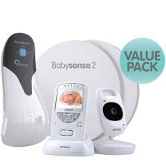 Oricom BS2S710 Babysense2 + Secure 710 Bundle Pack
